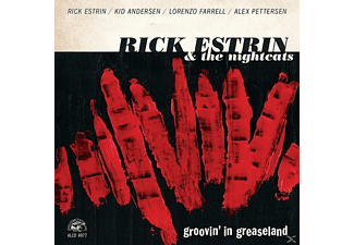 Rick & The Nichtcats Estrin - Groovin' In Greaseland - (CD)