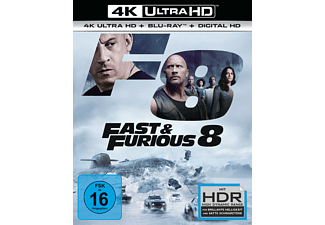 Fast & Furious 8 [4K Ultra HD Blu-ray + Blu-ray]
