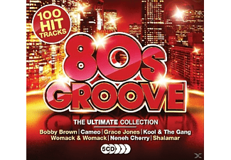 VARIOUS - Ultimate 80's Groove - (CD)