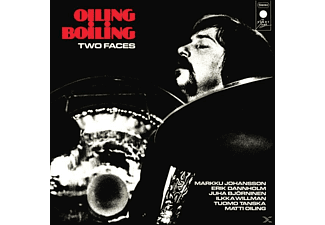 Oiling Boiling - Two Faces (Clear) - (Vinyl)