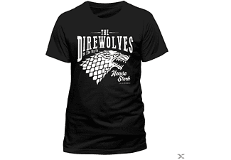Game Of Thrones - Direwolves (T-Shirt,Schwarz,Größe XL)