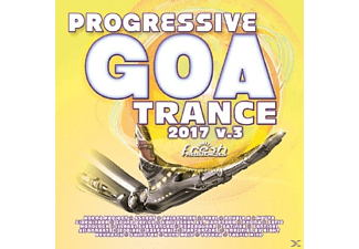 VARIOUS - Progressive Goa Trance 3/2017 - (CD)