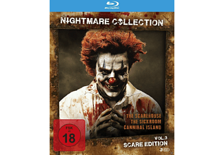 Nightmare Collection Vol. 3 - Scare Edition - (Blu-ray)