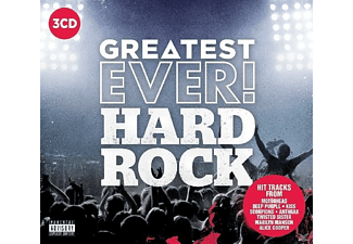 VARIOUS - Hard Rock-Greatest Ever - (CD)