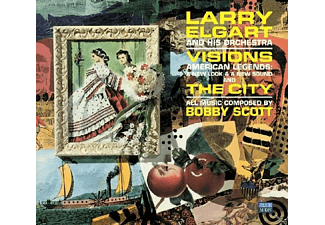 Larry & Orchestra Elgar - Visions & The City - (CD)