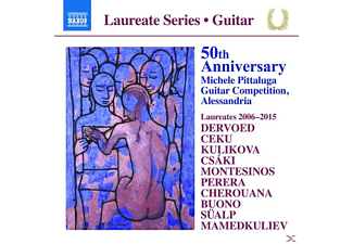 VARIOUS - 50th Anniversary M.Pittaluga Guitar Competition - (CD)