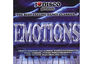 VARIOUS - i love disco emotions - (CD)