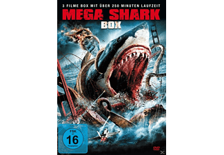 MEGA SHARK 1-3 BOX-EDITION (3 FILME) - (DVD)