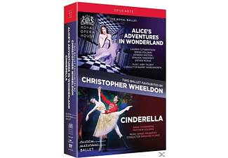 THE ROYAL BALLET/DUTCH NATIONAL BAL - Alice's Adventures in Wonderland/Cinderella - (DVD)