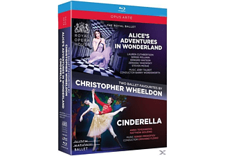 THE ROYAL BALLET/DUTCH NATIONAL BAL - Alice's Adventures in Wonderland/Cinderella - (Blu-ray)
