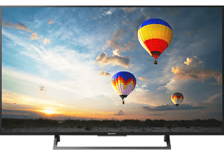 SONY KD-43XE8005, 108 cm (43 Zoll), UHD 4K, SMART TV, LED TV, 200 Hz, DVB-T2 HD, DVB-C, DVB-S, DVB-S2