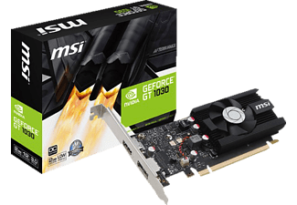 MSI GeForce GT 1030 2G LP OC (V809-2497R)( NVIDIA, Grafikkarte)