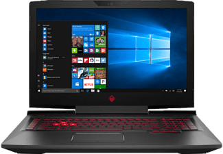 HP Omen 17.3 Black- I7-7700HQ/32GB/512ssd/1/8 GTX 1070 -17.3 inç UHD (2BU43EA) Notebook