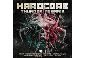 VARIOUS - Hardcore Thunder Megamix Vol.1 - (CD)