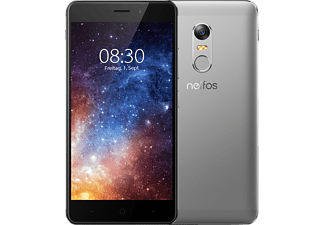 TP-LINK Neffos X1, Smartphone, 16 GB, 5 Zoll, Cloudy Grey, LTE