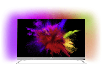 PHILIPS 55POS901F OLED TV (Flat, 55 Zoll, OLED 4K, SMART TV, Android TV)