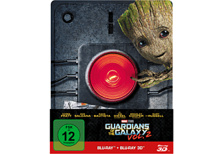 Guardians of the Galaxy Vol. 2 - 2D & 3D Steelbook Edition ltd. - (3D Blu-ray (+2D))