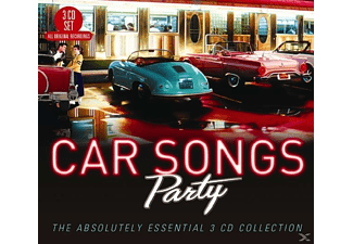 VARIOUS - Car Songs Party - (CD)