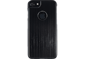 SPADA Brushed Alu, Backcover, Apple, Backcover, iPhone 6/iPhone 6s/iPhone 7/iPhone 8, Schwarz