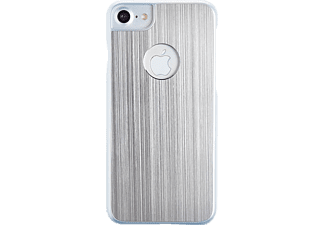 SPADA Brushed Alu, Backcover, Apple, Backcover, iPhone 6/iPhone 6s/iPhone 7/iPhone 8, Silber