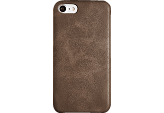SPADA Softcover iPhone 6/iPhone 6s/iPhone 7/iPhone 8 Handyhülle, Braun