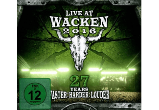 Various - Live At Wacken 2016-27 Years Faster Harder Louder - (CD + Blu-ray Disc)