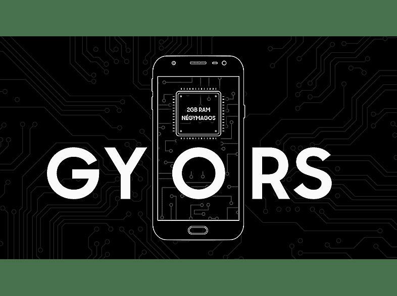 Samsung Galaxy J3 (2017) Dual SIM fekete kártyafüggetlen okostelefon (SM-J330)