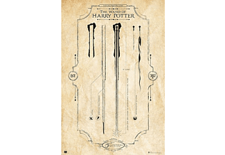 Harry Potter Poster Zauberstab The Wand