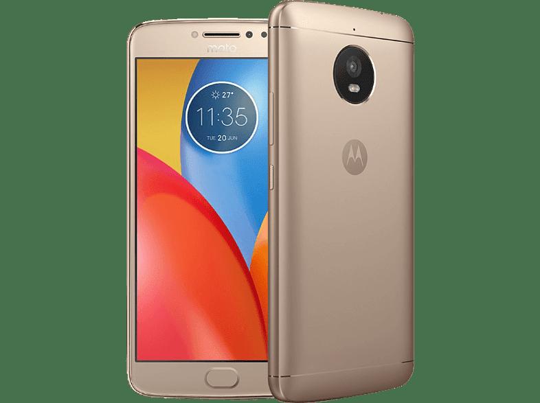 Motorola Moto E4 arany Dual SIM kártyafüggetlen okostelefon