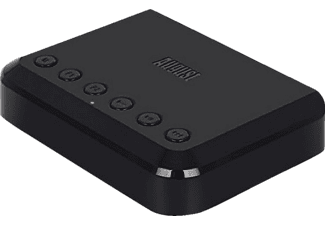 AUGUST INTERNATIONAL WR320B, WiFi Audio-Adapter, 140 mm, Schwarz