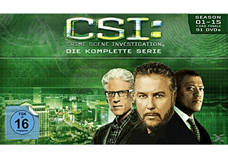 CSI: Las Vegas-Komplettbox - Staffel 1-15 - (DVD)