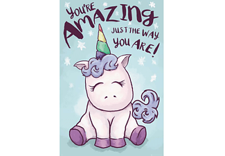 "Einhorn Poster ""You're amazing just the way you are!"""