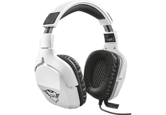 TRUST GXT 345 Creon 7.1 Bass Vibration Gaming Headset Weiß