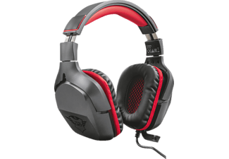 TRUST GXT 344 Creon Gaming Headset Schwarz/Rot