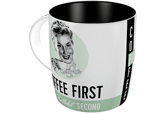 "Say it 50's Tasse ""COFFEE FIRST"""