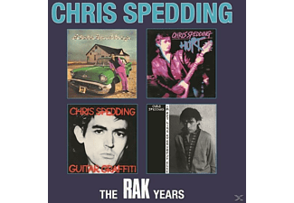 Spedding Chris - The Rak Years 1975-1980 (4CD Box-Set) - (CD)