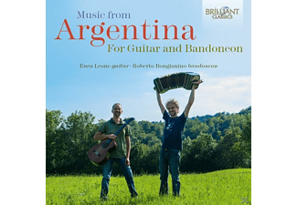 Enea Leone, Roberto Bongianino - Music From Argentina For Guitar And Bandoneon - (CD)