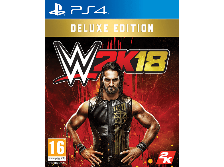 WWE 2K18 Deluxe Edition PlayStation 4 gaming games ps4 games