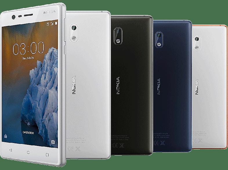 NOKIA 3 kék Dual SIM kártyafüggetlen okostelefon