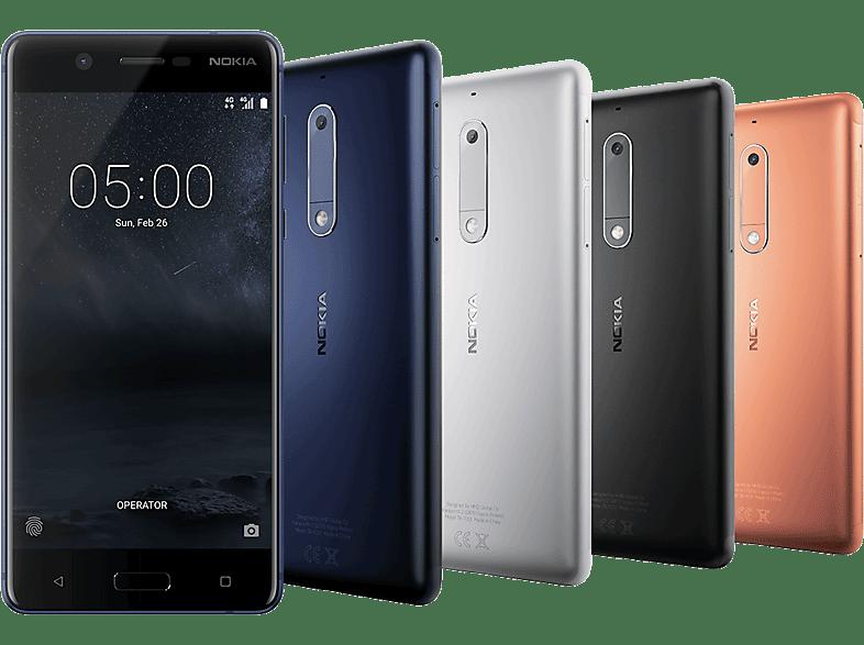 NOKIA 5 kék Dual SIM kártyafüggetlen okostelefon