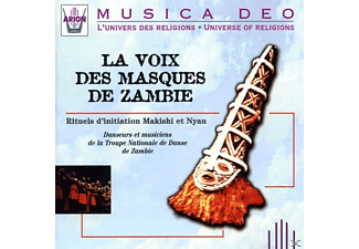 Voice Of The Masks Of Zambia - La Voix des Masques de Zambie - (CD)