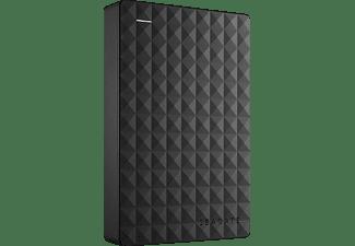 SEAGATE Expansion+ Portable, 4 TB, Schwarz, Externe Festplatte, 2.5 Zoll