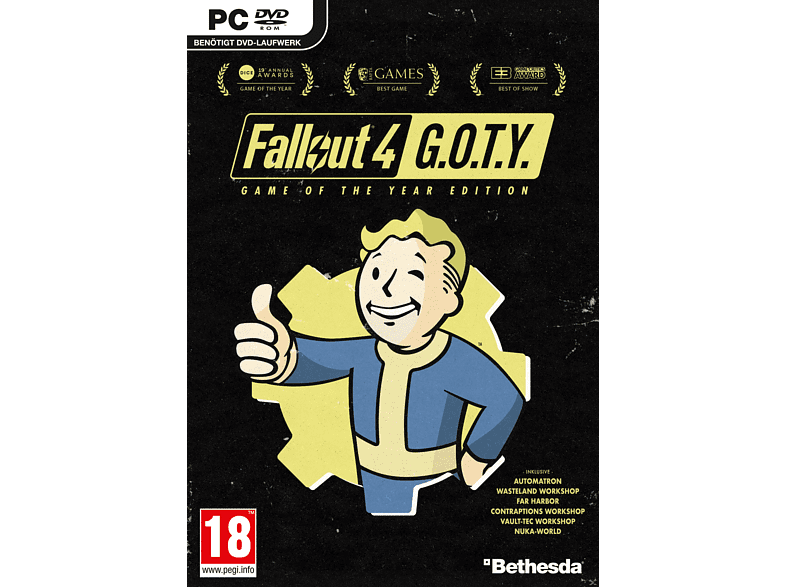 Fallout 4 Game of The Year PC gaming games pc games