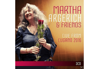 Martha Argerich - Argerich and Friends Live from Lugano 2016 - (CD)