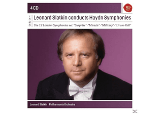 The Philharmonia Orchestra - Leonard Slatkin Conducts Haydn Symphonies - (CD)