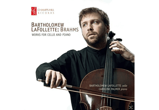 Bartholomew Lafollette - Works for Cello and Piano - (CD)