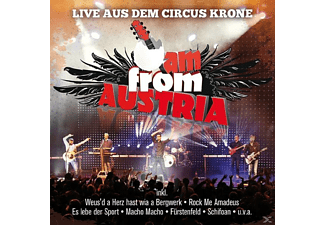 I Am From Austria - Live Aus Dem Circus Krone - (CD)