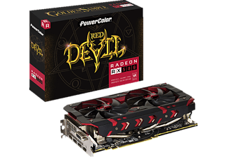 POWERCOLOR Red Devil Golden Sample Radeon™ RX 580 8GB GDDR5 (AXRX580 8GBD5-3DH/OC)( AMD, Grafikkarte)