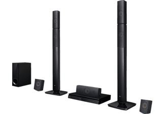 LG LHB 645N, 5.1 Heimkinosystem, 1.000 Watt, Bluetooth, Schwarz