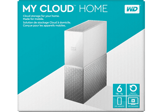 WD My Cloud™ Home  6 TB 3.5 Zoll extern